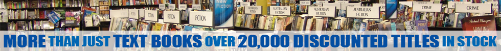 More than just textbooks. Over 20,000 discounted titles in stock